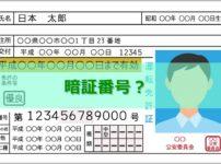 運転免許の暗証番号とは?
