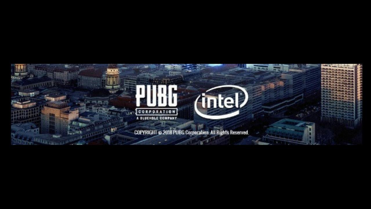 PUBG世界大会の公式スポンサーはインテル
