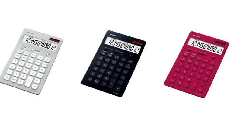 シャープ電卓 EL-N802