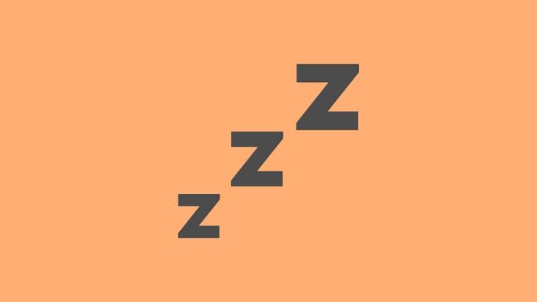 睡眠中はアルコールの分解能力が低下する